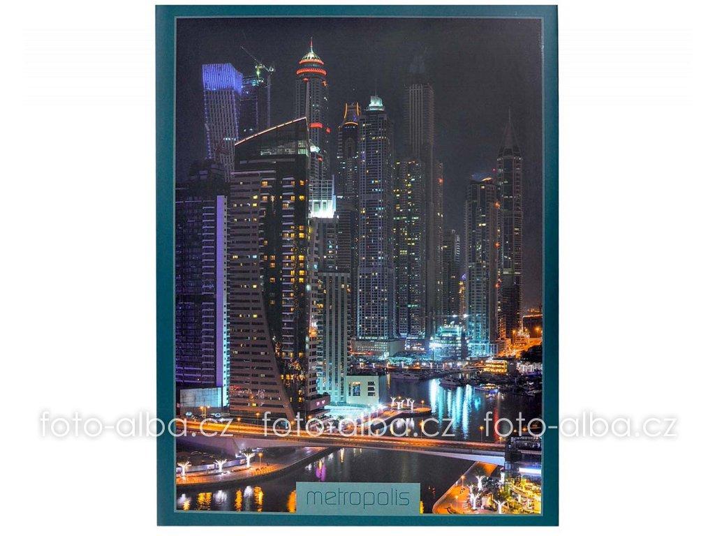 fotoalbum metropolis zelene 13x18
