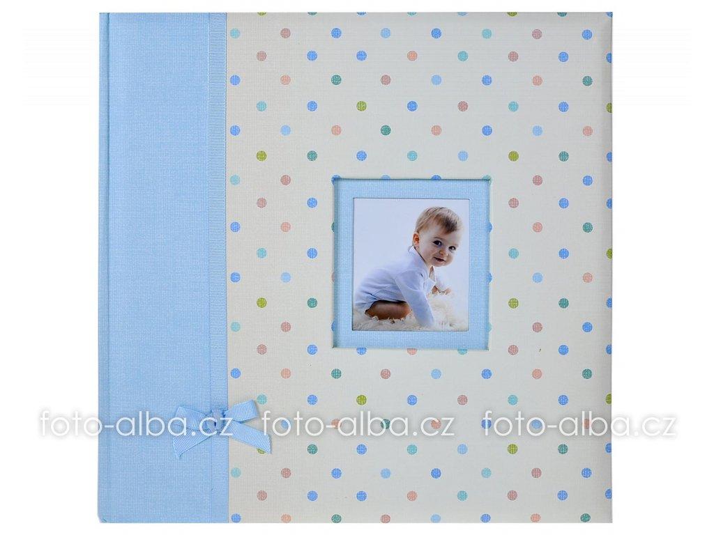 fotoalbum klasicke kara modre