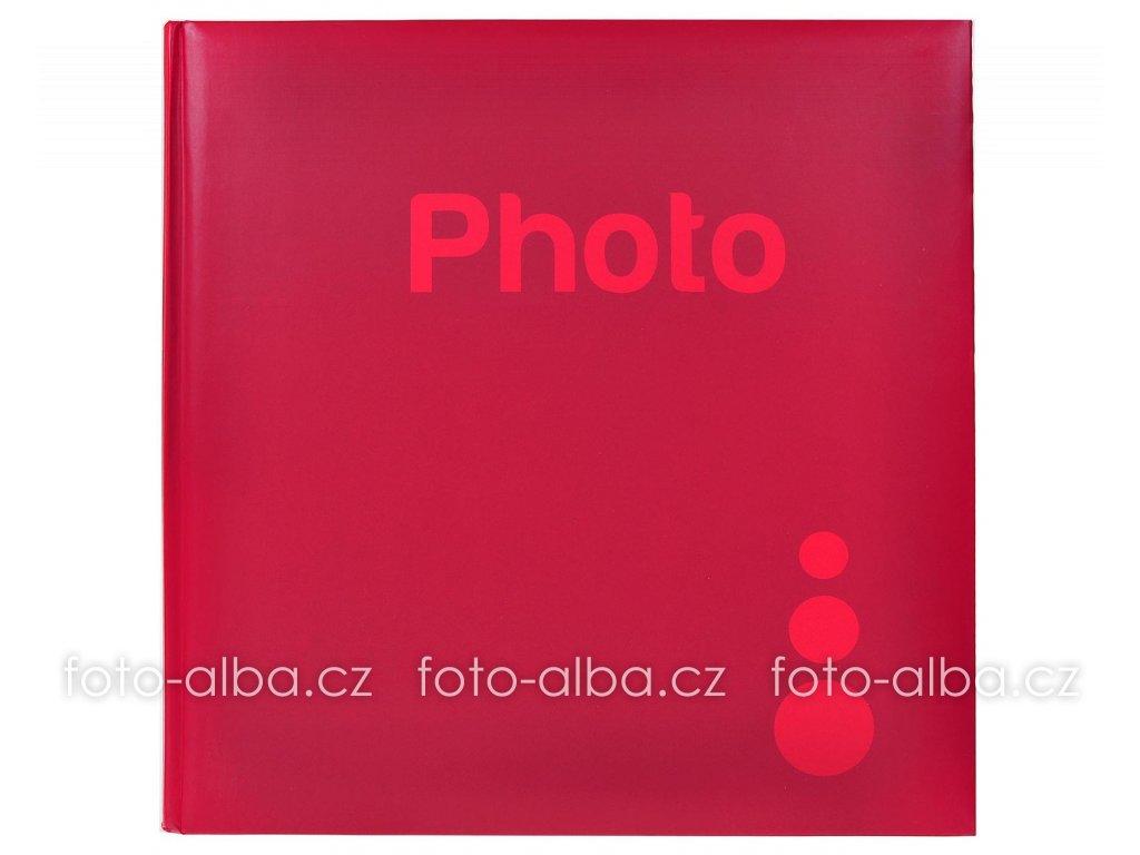 samolepici fotoalbum cervene