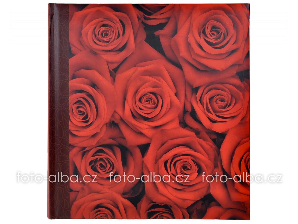 klasicke foto-album botanic cervene