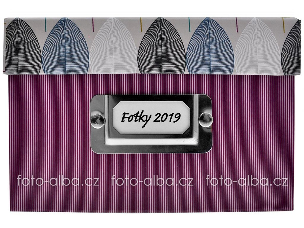 goldbuch photo box foliole fialova