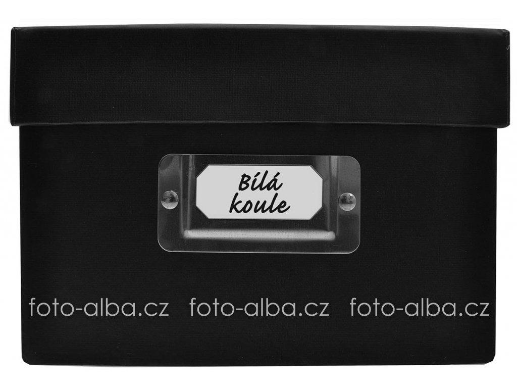 krabice box bella vista black