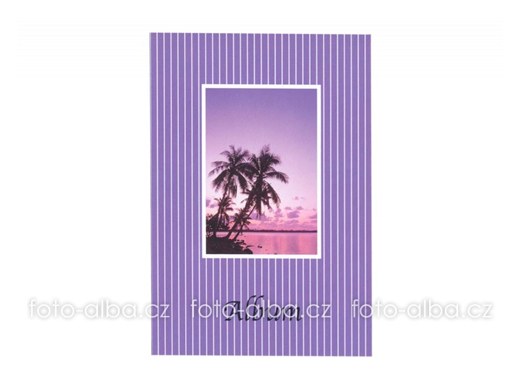 foto-album sešitek palmy