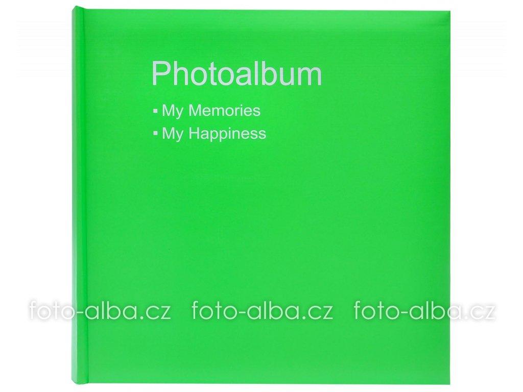 klasicke foto-album conception zelene