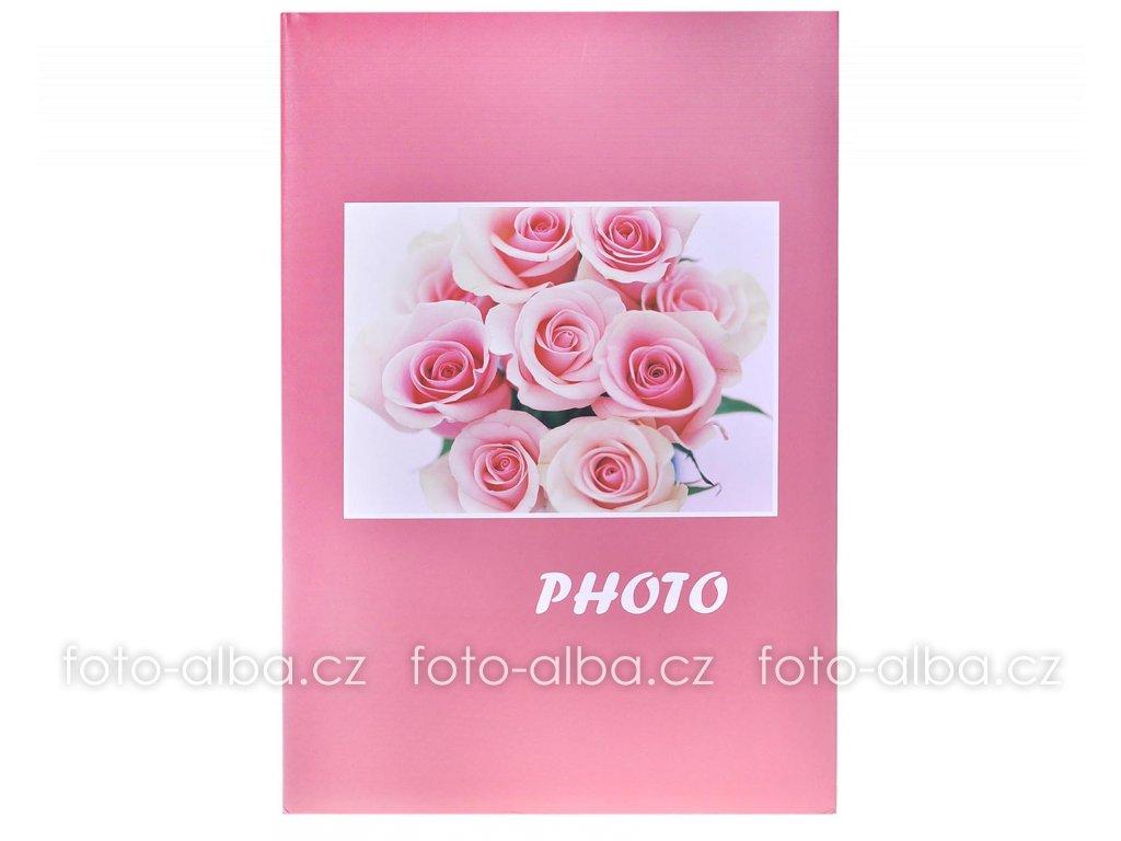 fotoalbum bouquet ruzove