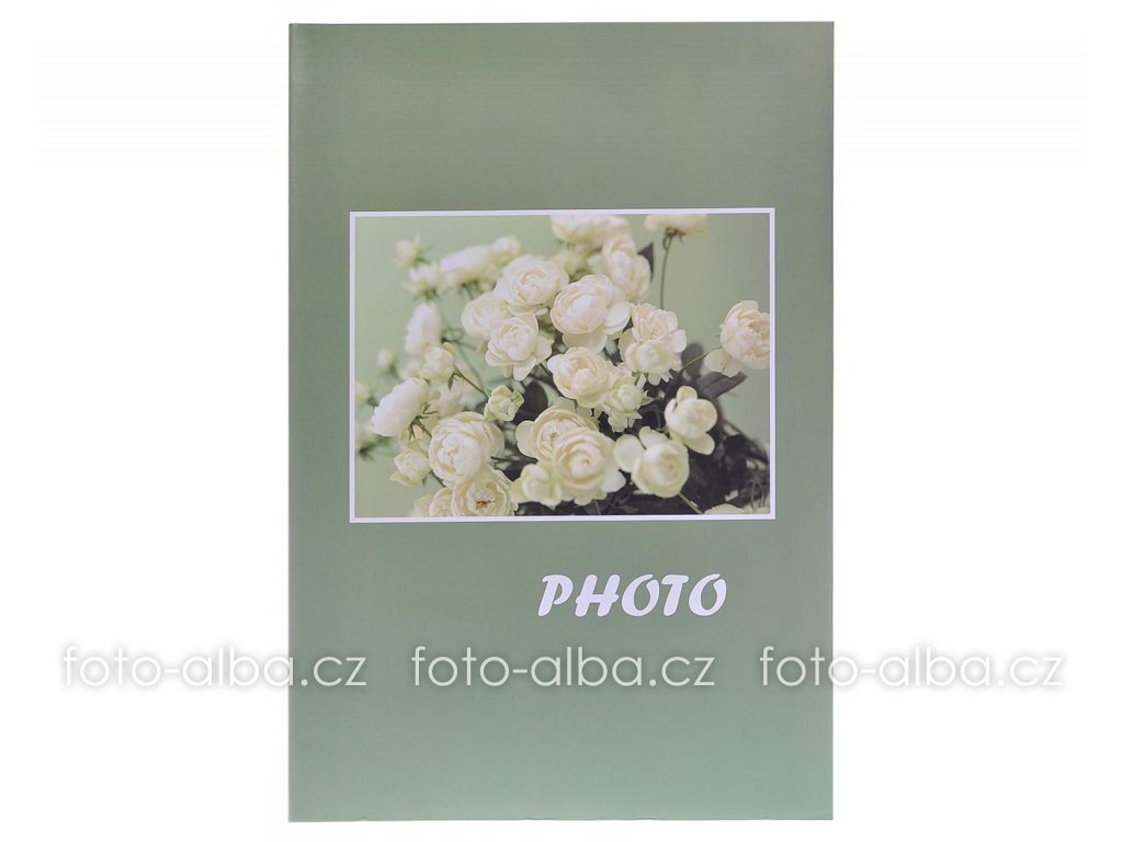 fotoalbum bouquet zelene