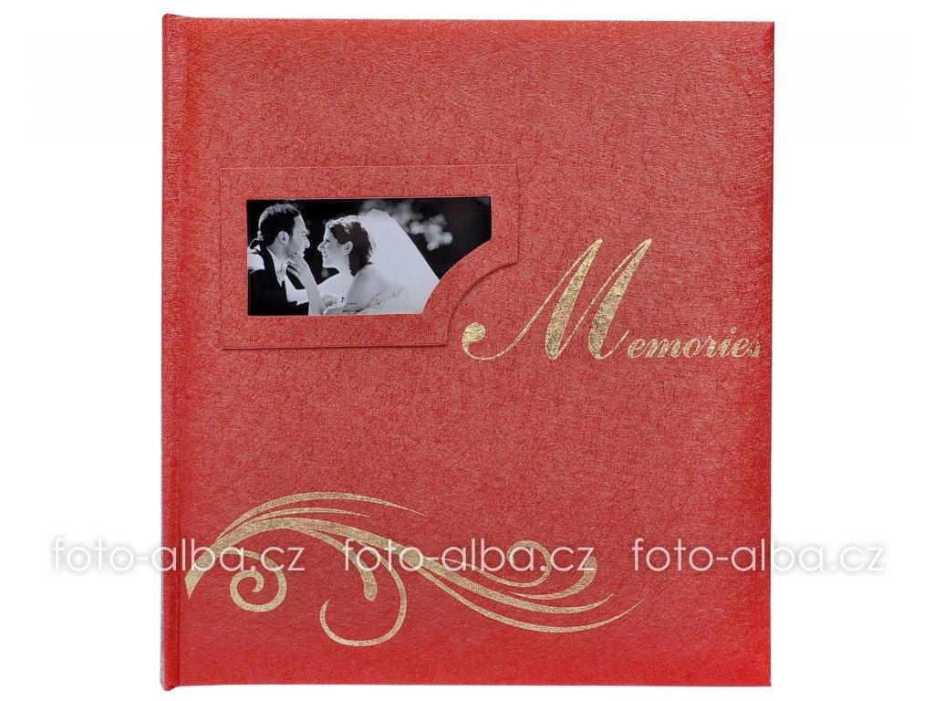 svatebni fotoalbum wm cervene