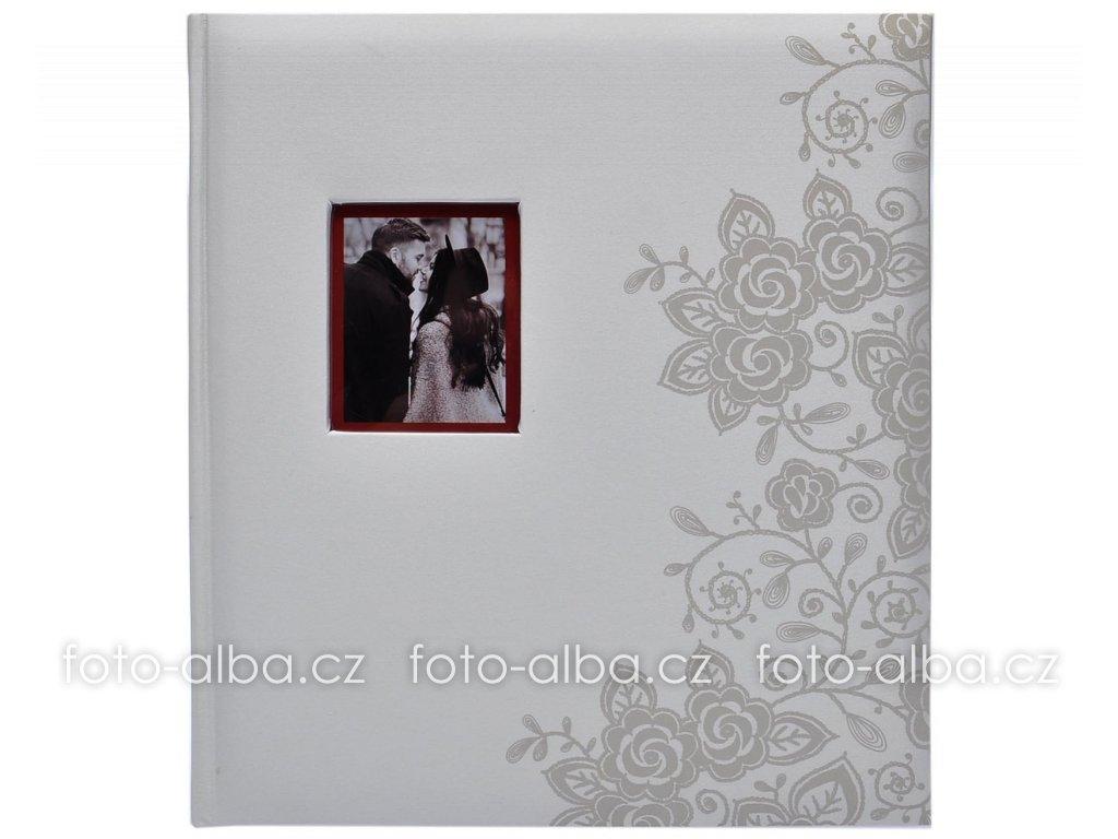 klasické svatebni fotoalbum secrets bile