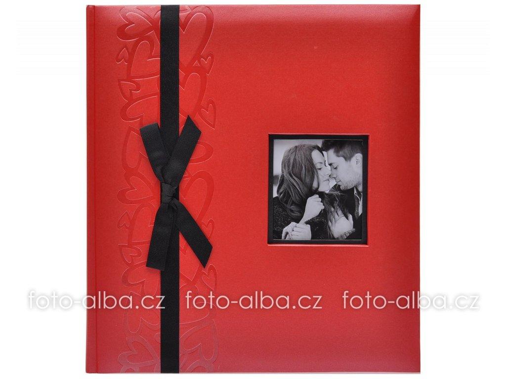 svatebni fotoalbum gentle cervene