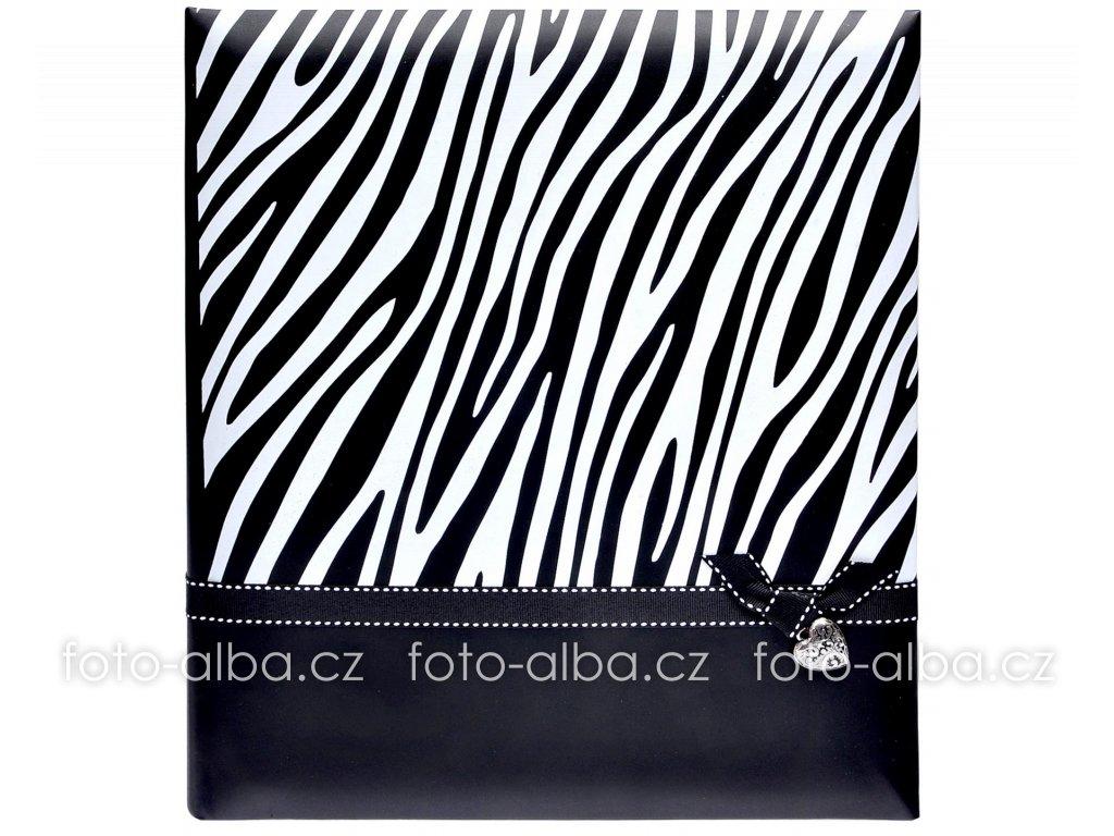 fotoalbum zebra cerne
