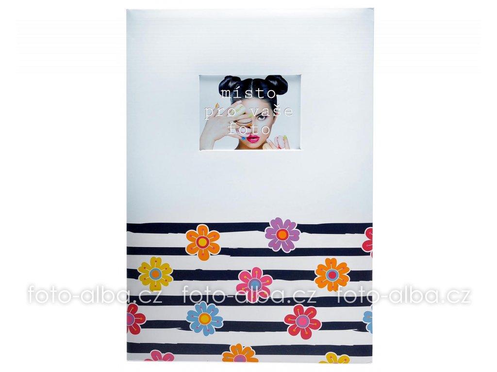 fotoalbum flowers cerne 400