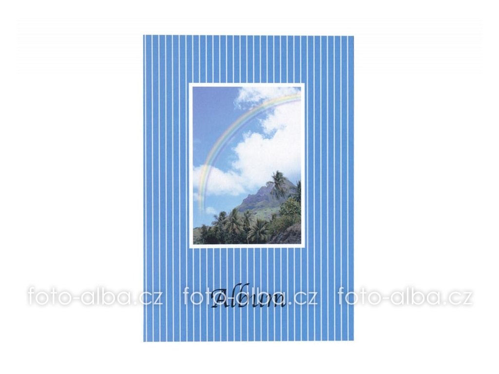 foto-album sešitek modré