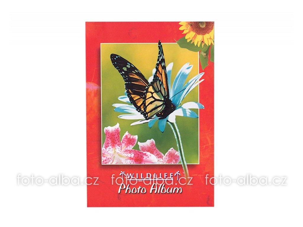 foto-album sešitek motýl