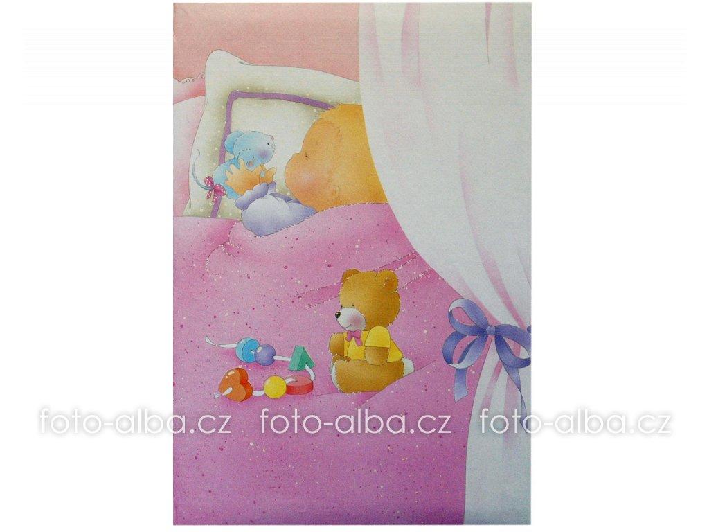 dětské fotoalbum