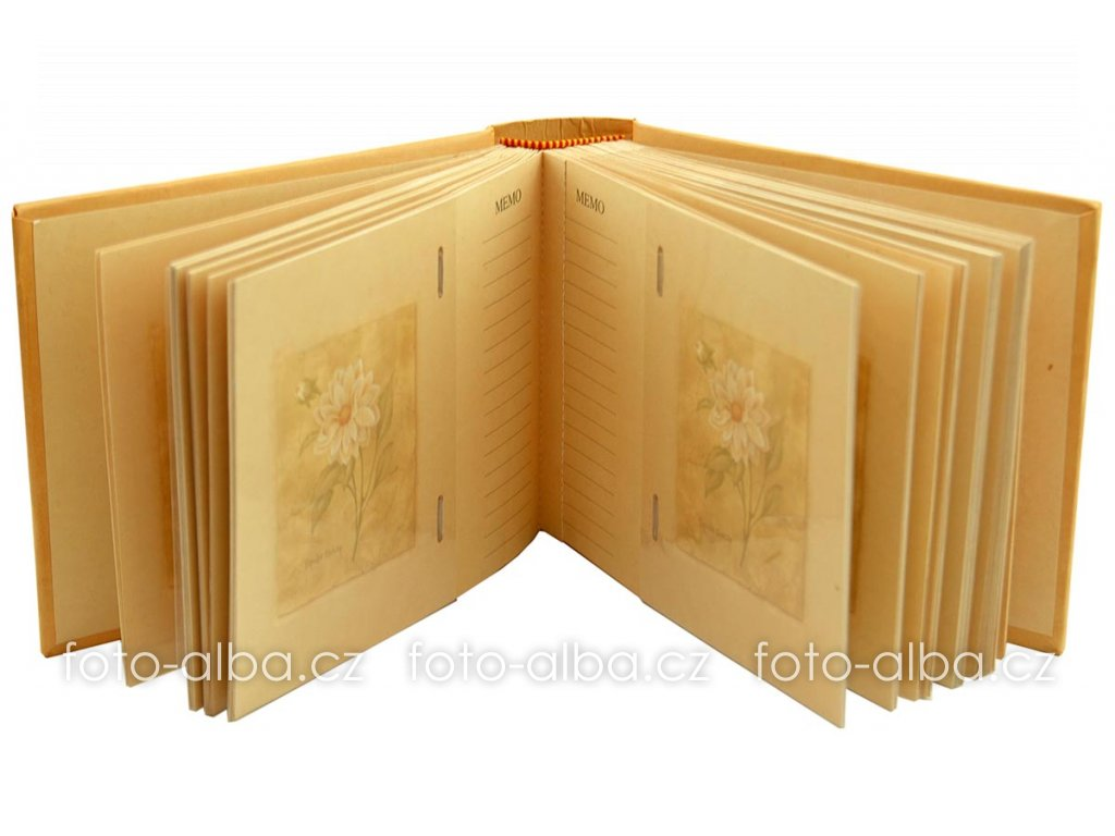 fotoalbum double dahlia desky
