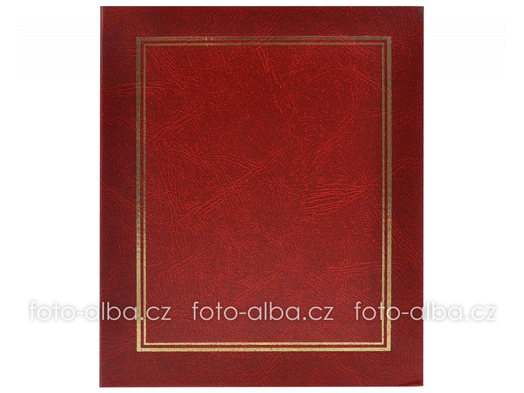 flip-foto-album cerveny 13x18 1