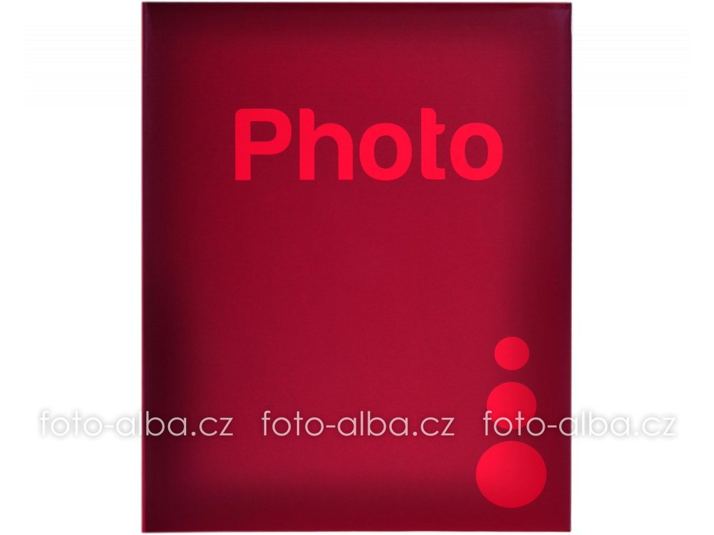 foto-album červené