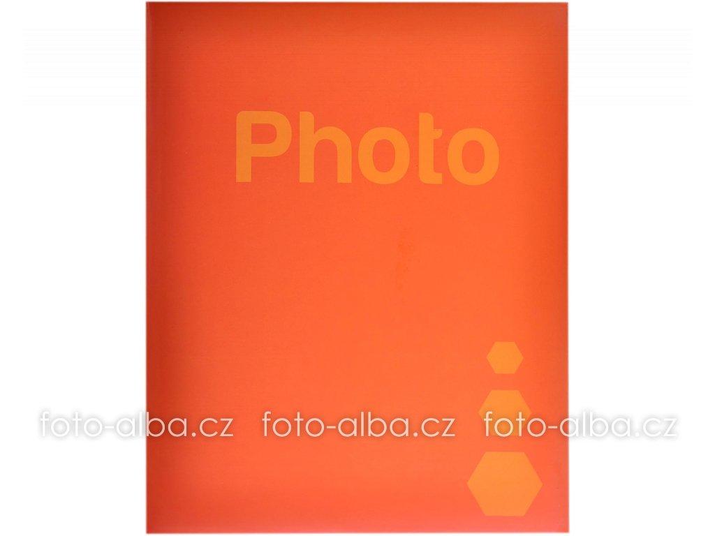 foto-album oranžové
