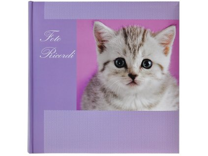 klasické foto-album kotě