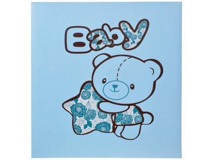 samolepicí album medvídek modry
