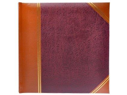 fotoalbum leatherette cervene