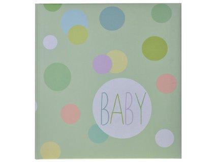 dětské fotoalbum baby dots
