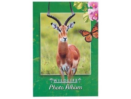 foto-album sešitek antilopa