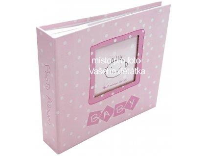 foto-album mimčo růžové