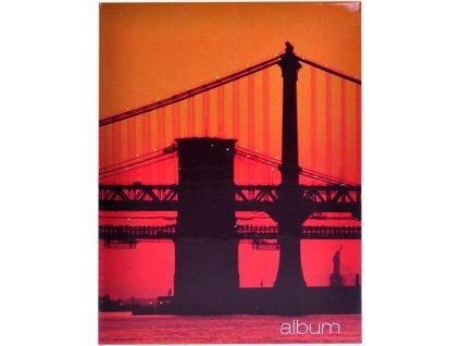 foto-album golden gate při západu slunce