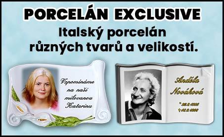 porcelán EXCLUSIVE