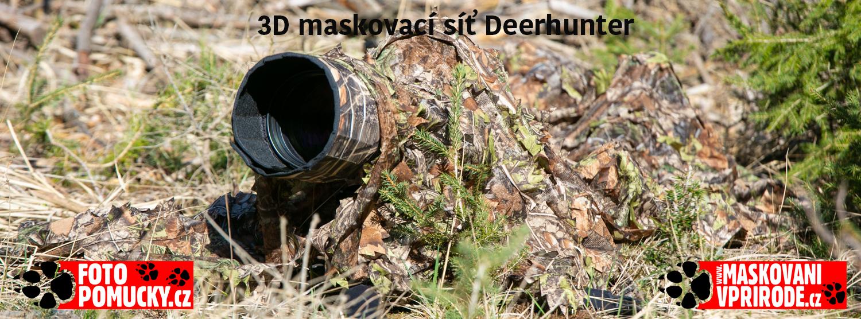 3D maskovací síť Deerhunter