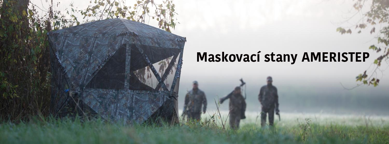 Maskovací stany pro lov a fotografování