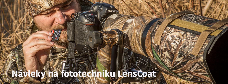 Neoprenové návleky LensCoat