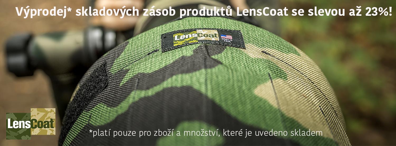 Výprodej skladových zásob návleků LensCoat