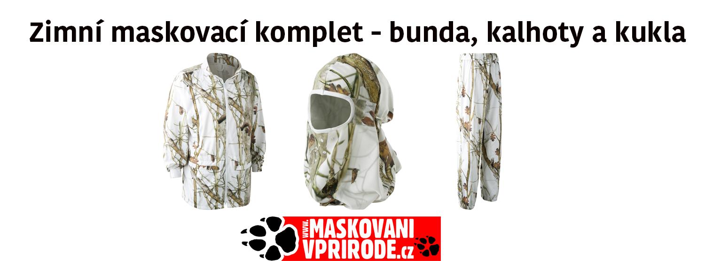 Zimní maskovací komplet Deerhunter