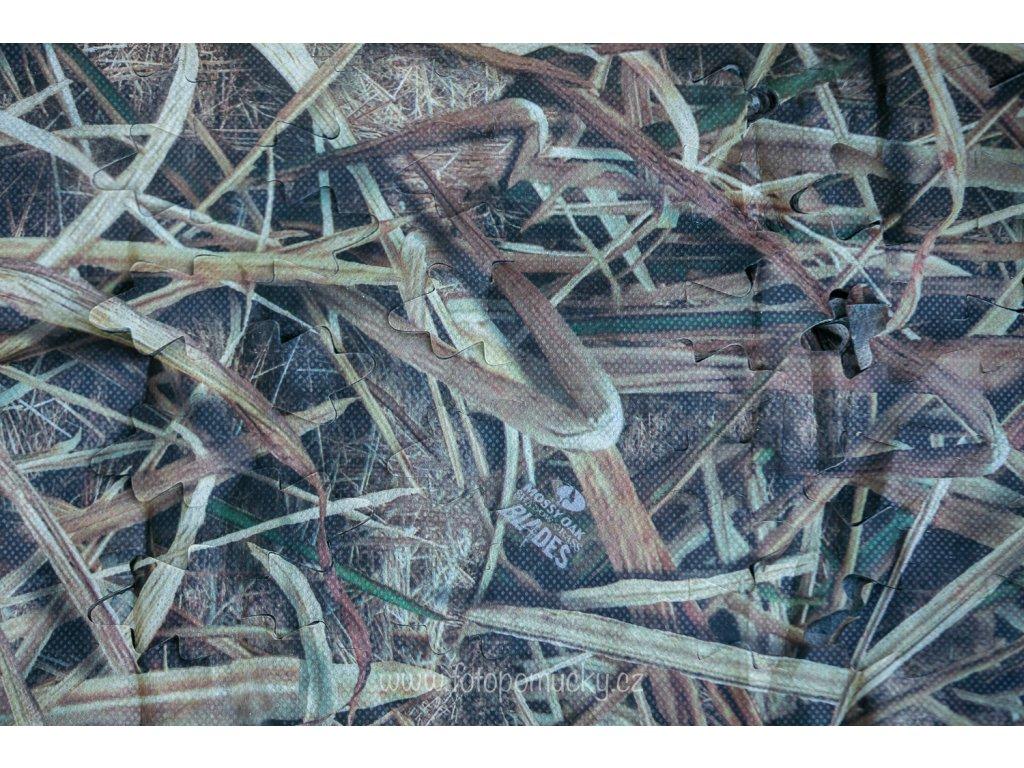 3D maskovací přehoz Mossy Oak Blades