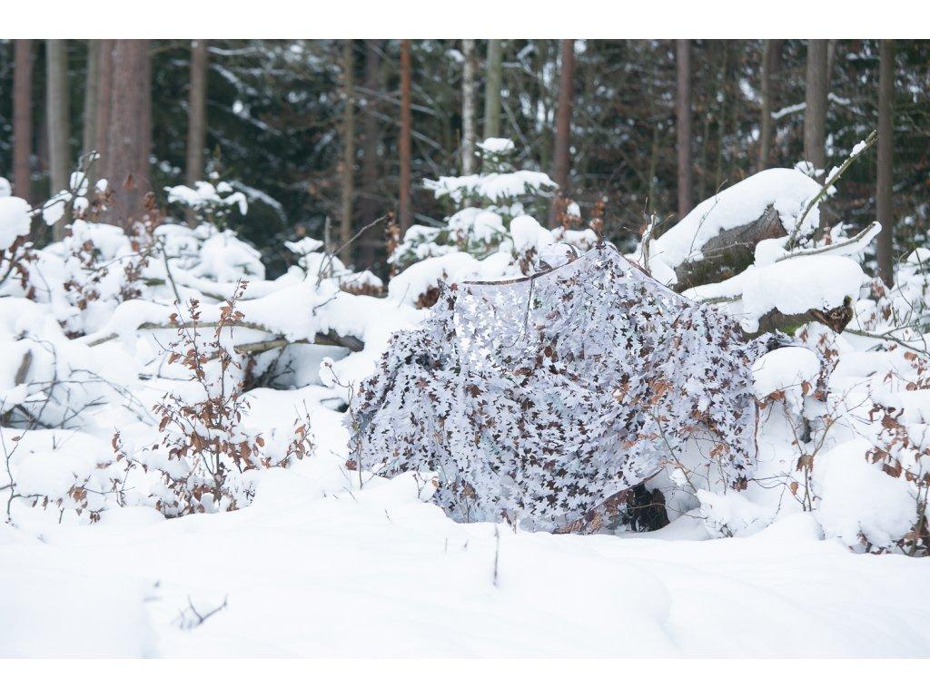 zimní maskovací síť II