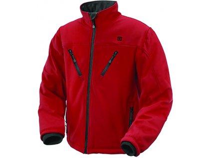vyhřívaná bunda thermosoles červená