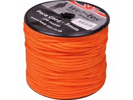 parasutisticka snura neonova oranzova WPARCORRG
