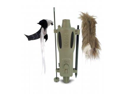 Elektronická atrapa pro vábení predátorů