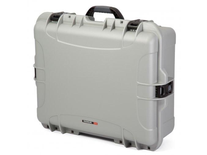 Odolný kufr nanuk 945 stříbrný a