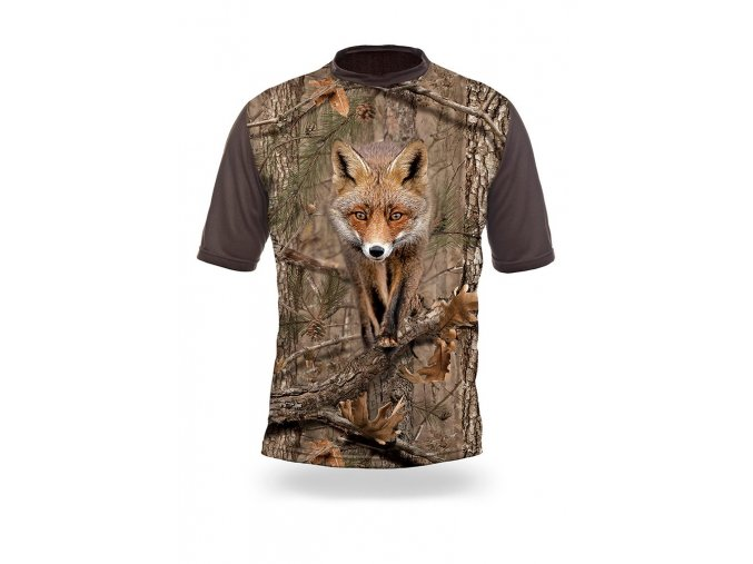3D triko maskovací liška