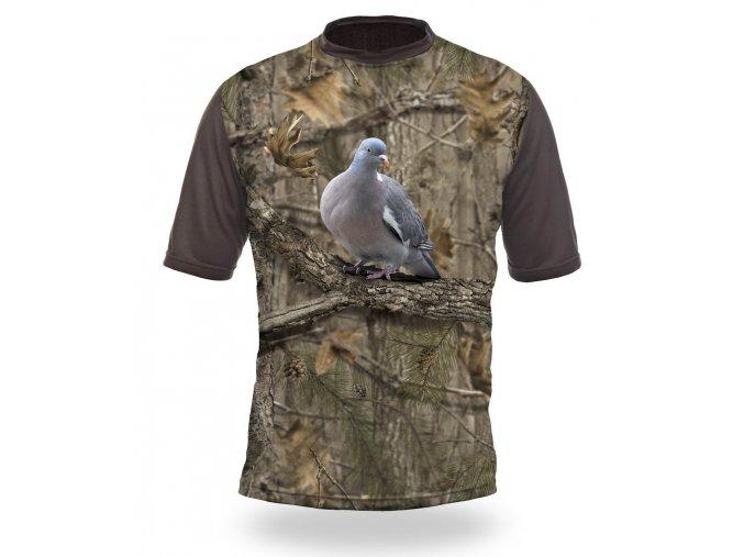 3D triko maskovací holub
