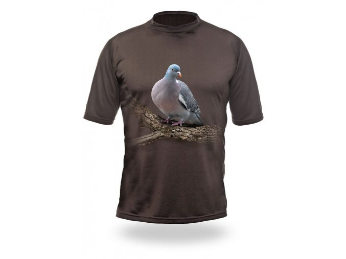3D triko holub
