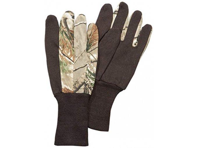 pletené teplé rukavice AP