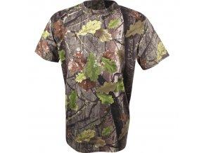 maskovací triko s krátkým rukávem english oak evo