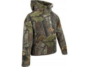 dětská fleecová bunda junior fieldman fleece hoodie EVO