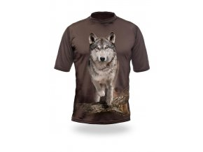 3D triko vlk