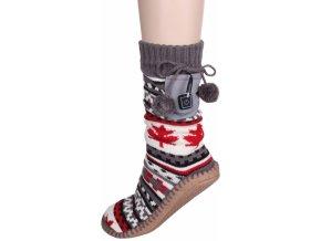 vyhrivane ponozky papuce