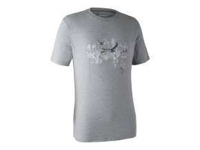 panske outdoorove triko ceder sede